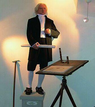 Expozice věnovaná Ing.Josefu Rosenauerovi (1735-1804) zachycuje život adílo tvůrce Schwarzenberského plavebního kanálu.